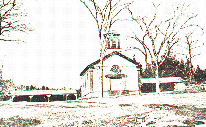 Quaker Hill Baptist Church, circa 1900